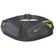 Nike Double Pocket Flask Belt | Dark Grey / Volt