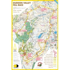 Harvey Duddon Valley Race Map | Mixed