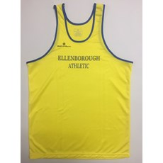 Ellenborough AC Men's Vest | Yellow / Blue