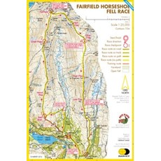 Harvey Fairfield Horseshoe Race Map | Mixed