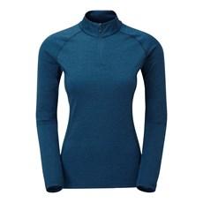 Montane Women's Dart Zip Neck | Narwhal Blue