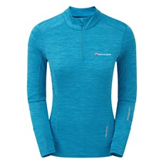 Montane Women's Katla Pull On | Cerulean Blue / Tabular Orange