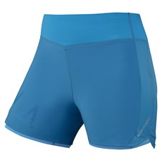 Montane Women's Katla Twin Skin Short | Cerulean Blue / Tabular Orange