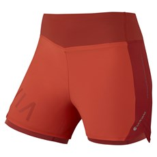 Montane Women's Katla Twin Skin Short | Paprika / Uluru Red