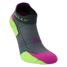 Hilly Women's Lite Cushion Socklet | Grey / Purple