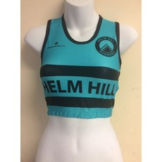 Ron Hill Women's Helm Hill Crop Top | Jade / Black