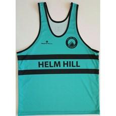 Ron Hill Junior Helm Hill Vest | Jade / Black