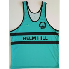 Ron Hill Men's Helm Hill Vest | Jade / Black