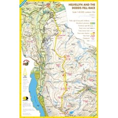 Harvey Helvellyn & The Dodds Race Map | Mixed