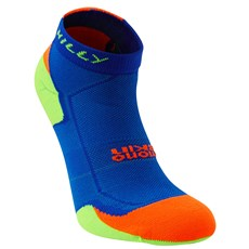 Hilly Unisex Lite Cushion Quarter | Cobalt / Fluo Orange