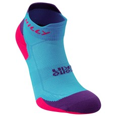Hilly Women's Lite Cushion Socklet | Teal / Purple