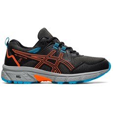 Asics Junior Venture 8 GS | Black / Marigold Orange