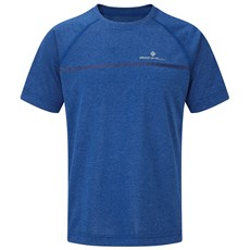 Ron Hill Junior Everyday SS Tee | Cobalt marl