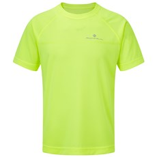 Ron Hill Junior Everyday SS Tee | Fluo Yellow
