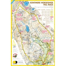 Harvey Kentmere Horseshoe Race Map | Mixed