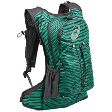 Asics Lightweight Running Backpack | Jungle Green / Dark Grey