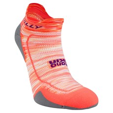 Hilly Women's Lite Comfort Socklet | Neon Candy / Nickel