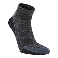 Hilly Lite Comfort Quarter | Charcoal / Black