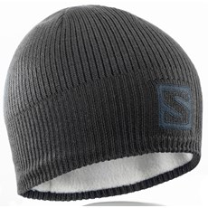 Salomon Logo Beanie | Black