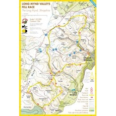 Harvey Long Mynd Valleys Race Map | Mixed