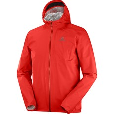 Salomon Men's Bonatti WP Jacket | Goji Berry