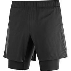 Salomon Men's Agile Twin Skin Short | Black