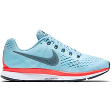 Nike Men's Pegasus 34 | Ice Blue / Blue Fox / Bright Crimson