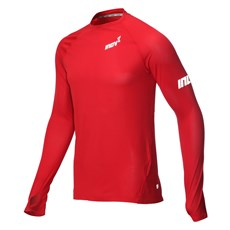 Inov-8 Men's Base LS | Dark Red
