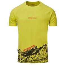 OMM Men's Bearing SS Tee | Yellow Logo