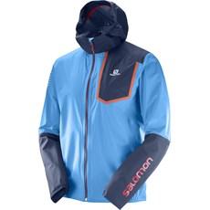 Salomon Men's Bonatti Pro WP Jacket | Hawaiian Surf / Dress Blue