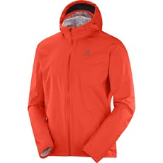 Salomon Men's Bonatti WP Jacket | Cherry Tomato