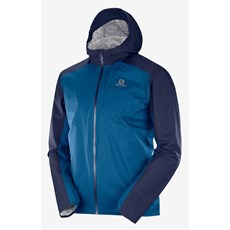 Salomon Men's Bonatti WP Jacket | Night Sky / Poseidon