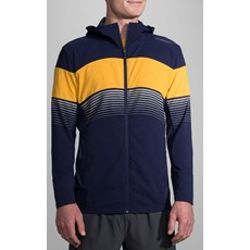 Brooks Men's Canopy Jacket | Navy / Finch Stripe