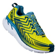 Hoka Men's Clifton 4 | Sulpur Spring / Midnight
