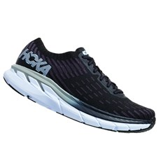 Hoka Men's Clifton 5 Knit | Black / White