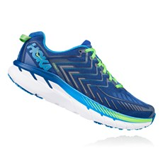 Hoka Men's Clifton 4 | True Blue / Jasmine Green