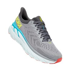 Hoka Men's Clifton 7 Wide | Wild Dove / Dark Shadow