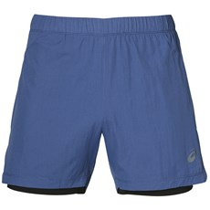 "Asics Men's Cool 2 in 1 5"" Short 