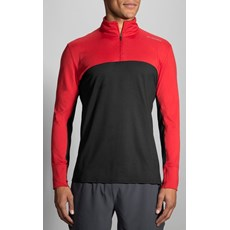 Brooks Men's Dash 1/2 Zip | Robin / Black
