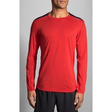 Brooks Men's Distance LS | Robin / Black