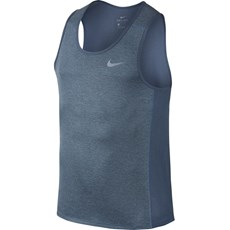 Nike Men's Miler Tank | Armory Blue Heather