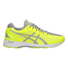 Asics Men's DS Trainer 23 | Safety Yellow / Mid Grey