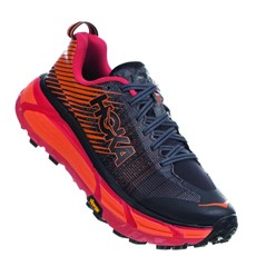 Hoka Men's Evo Mafate 2 | Black / Poppy Red