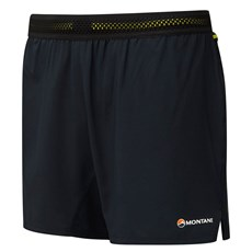 Montane Men's Fang Short | Black / Laser Green