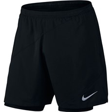 Nike Men's Flex 2 in 1 Short | Black