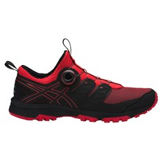 Asics Men's Fuji Rado | Red Alert / Black