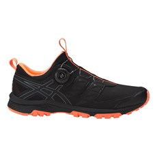 Asics Men's Fuji Rado | Black / Hot Orange