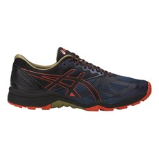 Asics Men's Fuji Trabuco 6 | Insignia Blue / Red