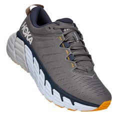 Hoka Men's Gaviota 3 | Charcoal Gray / Ombre Blue