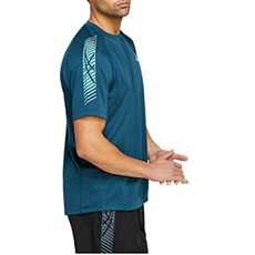 Asics Men's Icon Tee | Magnetic Blue / Techno Cyan